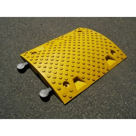 Polymax Dune Speed Ramp 500 x 407 x 50 Centre Section-Yellow