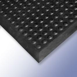 FLEXI Anti-Fatigue Mat Black 900mm x 600mm x 16mm at Polymax