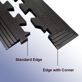 Two Types of Edging Available