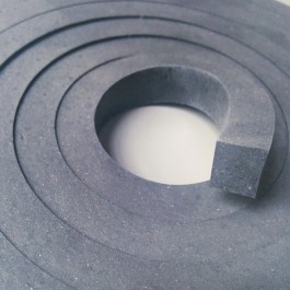 NBR Solid Strip 14mm x 12mm x 3m Section