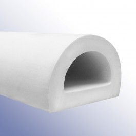 White PVC D-Fenders at Polymax