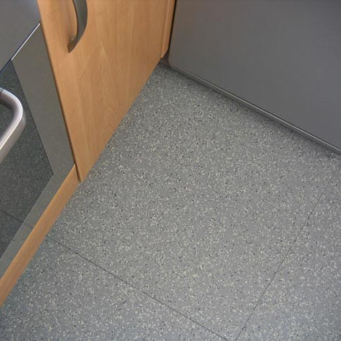 Polymax Magma Terrazzo Finish Floor Tiles Rubber