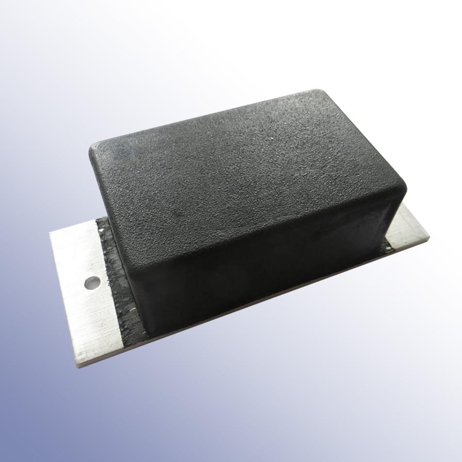Aluminium Tipper Pad 180L x 75W x 46H