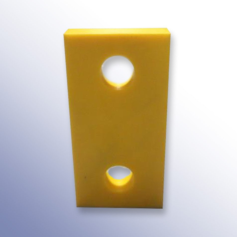 High Visibility 2 Fixings Front Rubber Element 410L x 210W x 35H
