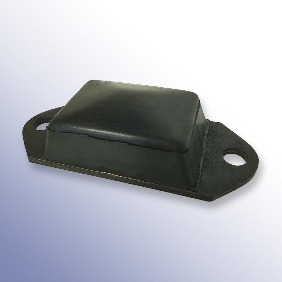 Steel Oval Tipper Pad Coated 153L x 62W x 40H