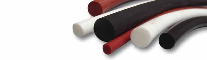 Rubber Cords, Rubber Extrusions & Foam Strips | Polymax UK