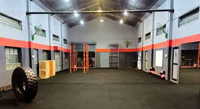 Gym Flooring Range